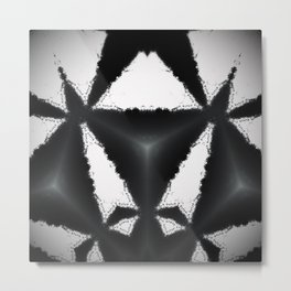 B&W Design Metal Print