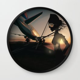 Your Journey Starts Here... Wall Clock
