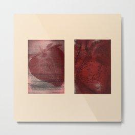 Cardio Fragaria Metal Print