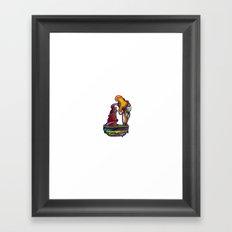 Bracing Mesa Framed Art Print