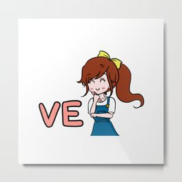 Jeannie #1 (Jeannie: You & Me collection) Metal Print