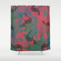camel Shower Curtains featuring Camel toe by [Oxz]