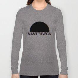 Sunset Television Logo Long Sleeve T-shirt