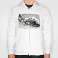 Passion in Black and White Hoody