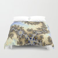 bar Duvet Covers featuring Sand Bar by BohemianBound