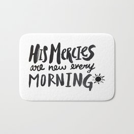 Mercy Morning Bath Mat