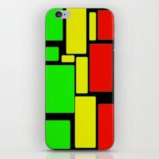 Ghanaian colors iPhone & iPod Skin