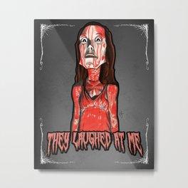 Carrie White Metal Print
