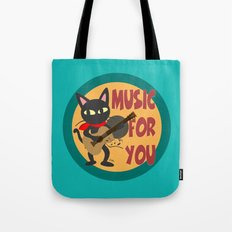 Music for you Tote Bag