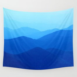 Hunter Mountain Spring Wall Tapestry