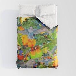 Parrots, parrots, parrots Comforters