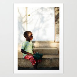 Blind Boy I / Pignon, Haiti Art Print