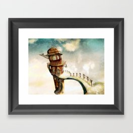 The Peculiar Tenants Framed Art Print