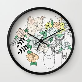 Lunch Two-gether Wall Clock