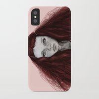 redhead iPhone & iPod Cases featuring Redhead by AParry