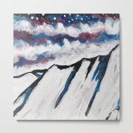 Night Mountain III Metal Print