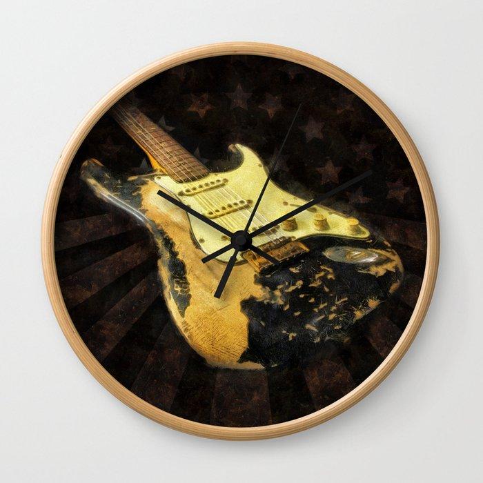 My AMERICAN RELIC STRATOCASTER® Custom Shop Wall Clock