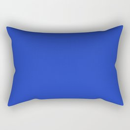 Persian Blue - solid color Rectangular Pillow