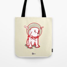 Space Puppy Tote Bag