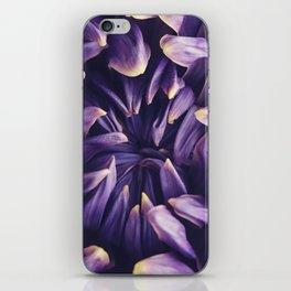 Purple Flower iPhone Skin