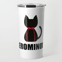 Geronimo + Cat = Gerominou Travel Mug