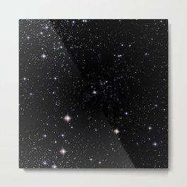 Nebula texture #42: Star Night Metal Print