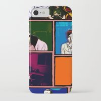 comics iPhone & iPod Cases featuring Comics by AntWoman