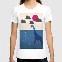 africa T-shirts featuring Africa by Mehdi Elkorchi