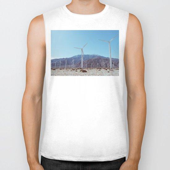 Palm Springs Windmills XI Biker Tank