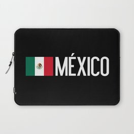 Mexican Flag & México Laptop Sleeve