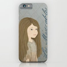 Portrait of Cosette from Les Misérables iPhone 6 Slim Case