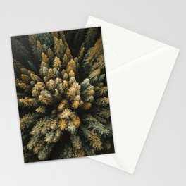 pine forest in the north cascades Stationery Cards