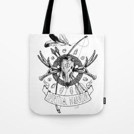 Spiritual Warrior Tote Bag