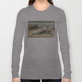 Summer on The Dunes - Niels Frederik Jensen Long Sleeve T-shirt