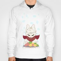 macaron Hoodies featuring Macaron Time by Timid Arts