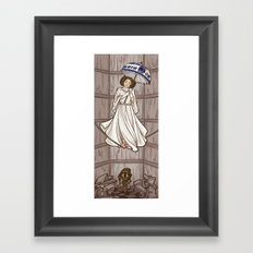 Leia's Corruptible Mortal State Framed Art Print