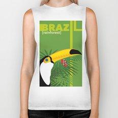Brazil [rainforest] Biker Tank