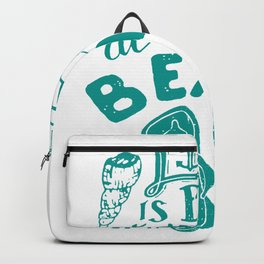 Life is better at the beach Backpack