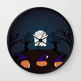 Trick or treat! Wall Clock