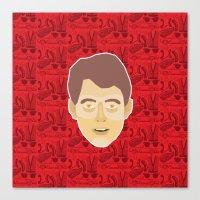 ferris bueller Canvas Prints featuring Ferris Bueller by Kuki