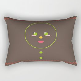 Gingerbread Man Rectangular Pillow