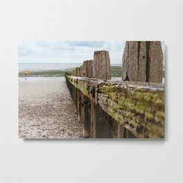 Littlehampton Beach_11 Metal Print
