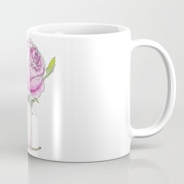 Fragrance bottle with rose flower Coffee Mug