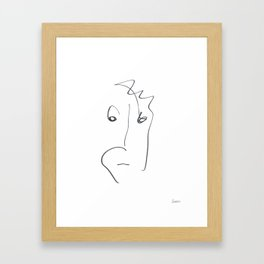 Demeter Moji d14 4-4 w Framed Art Print