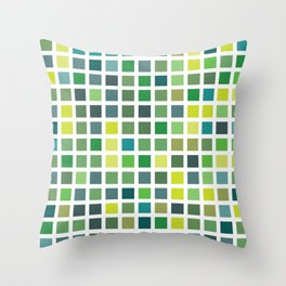 City Blocks - Plant #486 Throw Pillow