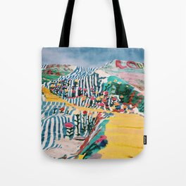 Salvation Mountain Tote Bag
