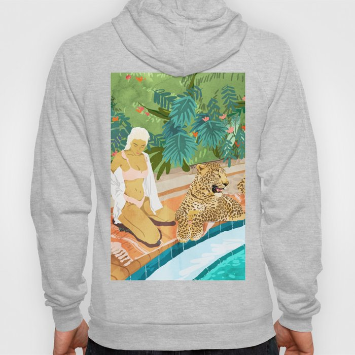 The Wild Side #illustration #painting Hoody