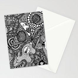 Samsara - The cycle of Birth and Rebirth Stationery Cards