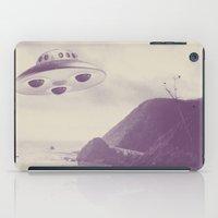 ufo iPad Cases featuring UFO by Grafiskanstalt