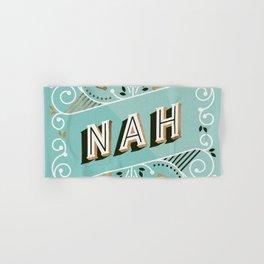 Nah – Mint & Rose Gold Palette Hand & Bath Towel